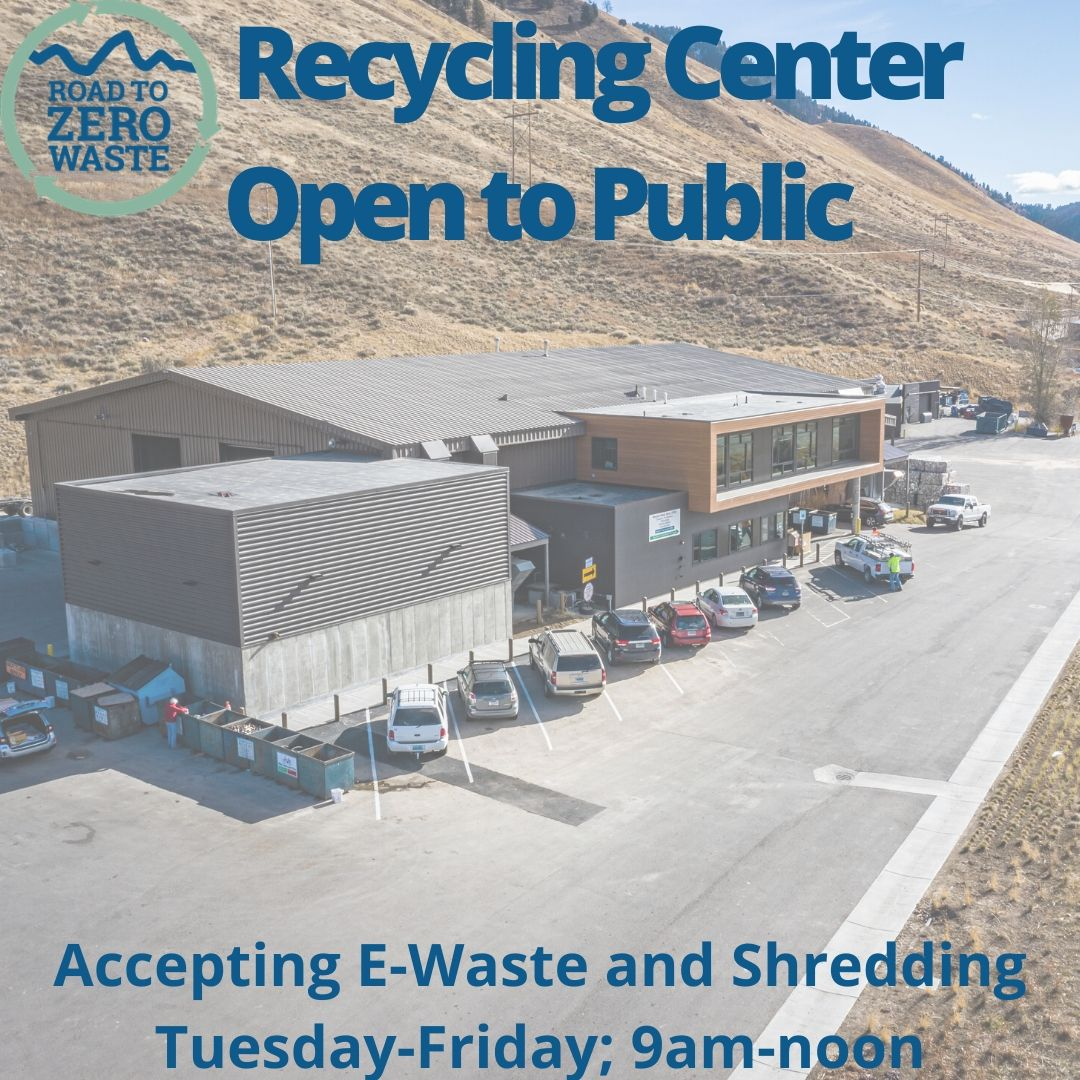 Recycling Center Open to Public
