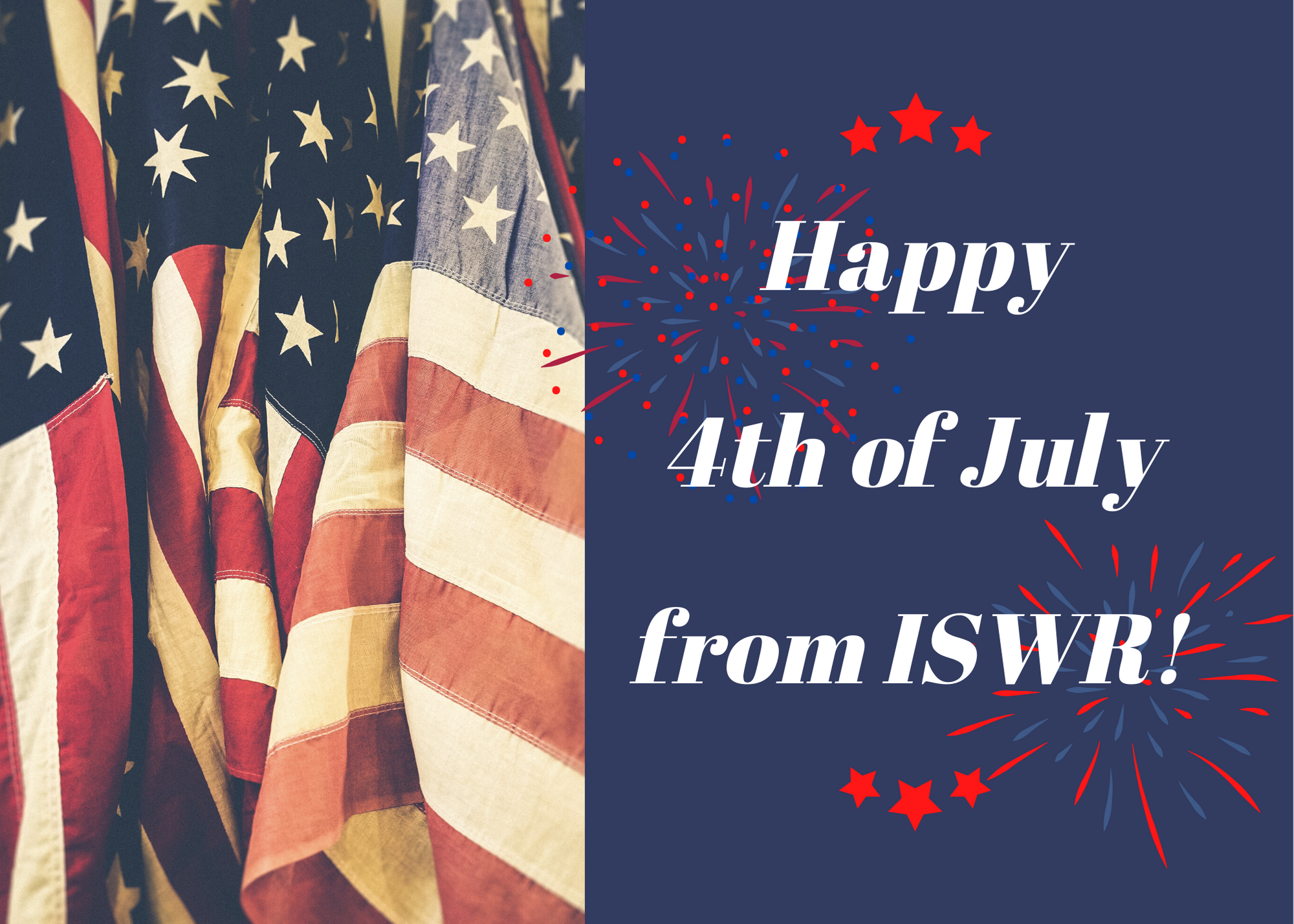 Happy 4th of July from ISWR