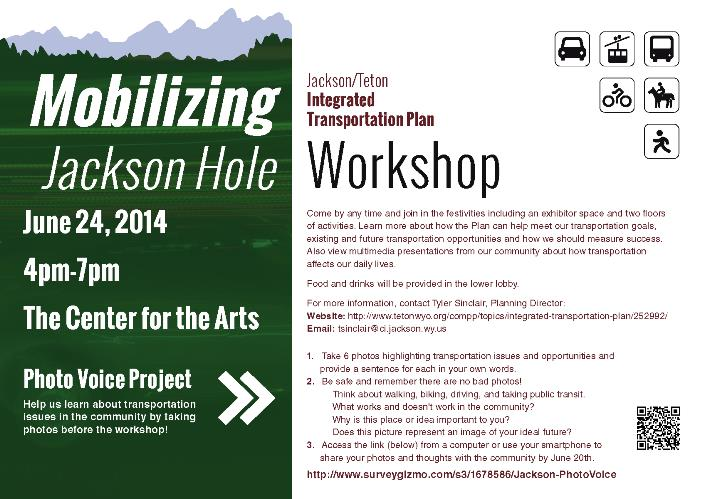 Mobilizing Jackson Hole Workshop flyer