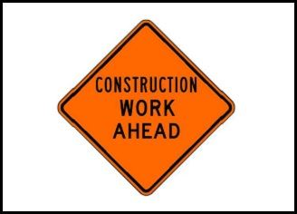 road construction news flash