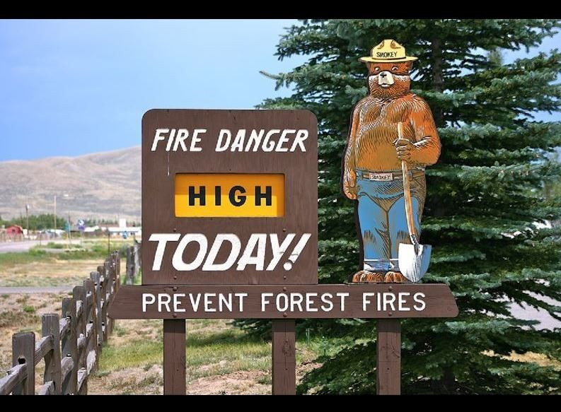 Fire danger high